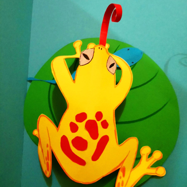 Otroška delavnica - žabica