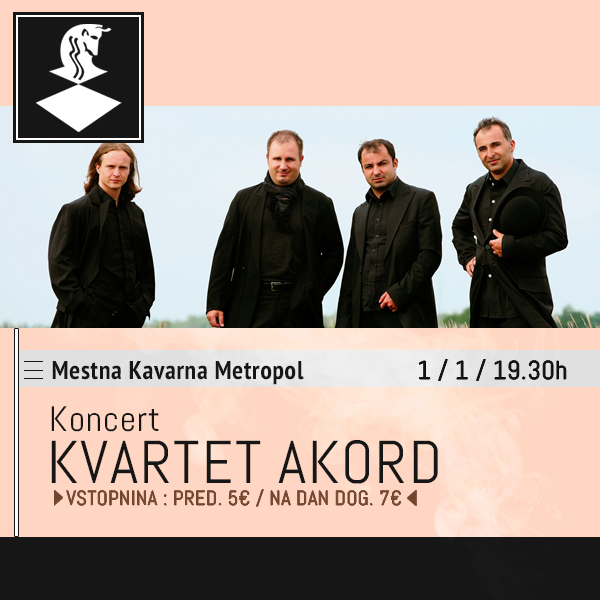 Novoletni koncert Kvarteta Akord
