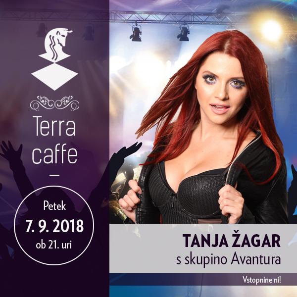 Tanja Žagar s skupino Avantura