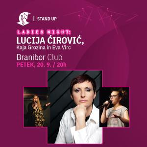Ladies night stand up z Lucijo Ćirović