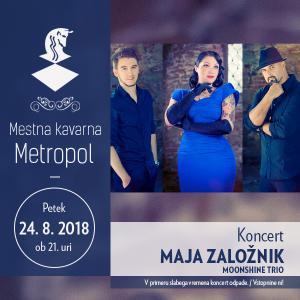 Maja Založnik Moonshine Trio