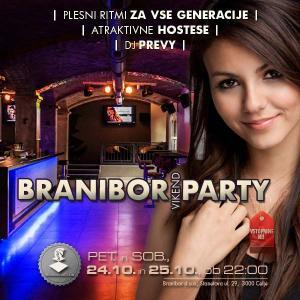 Branibor vikend party