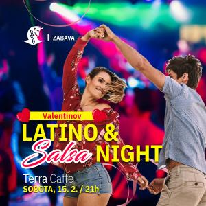 Valentinov Latino & Salsa night