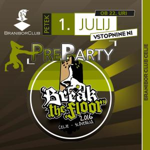 Break the floor preparty