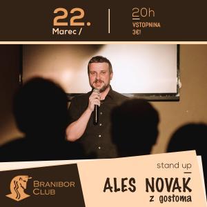 Aleš Novak z gostoma