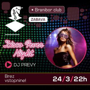 Disco fever night