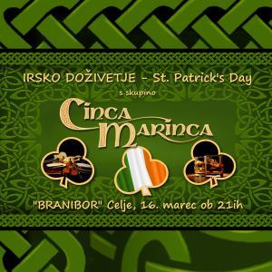 St. Patrick's day s skupino Cinca Marinca