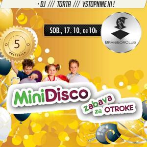 Mini disco zabava za otroke