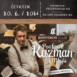 Prof. Kuzman mlajši