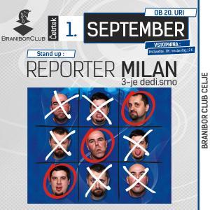 Reporter Milan, 3-je dedi.smo