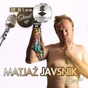 Matjaž Javšnik - STRIPTIZ