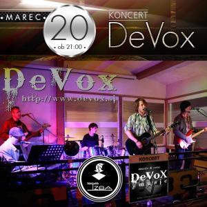 Koncert zasedbe DeVoX