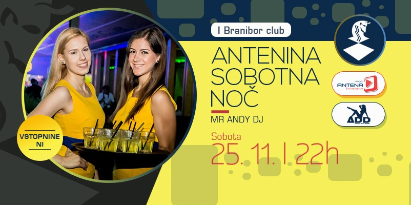 antenina sobotna noč