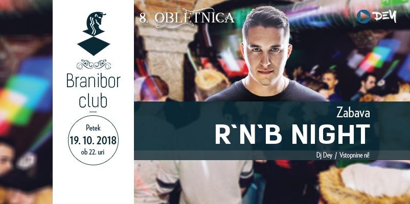 8. obletnica - R'n'B night