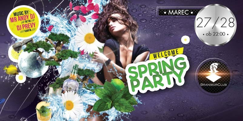 Welcome spring party