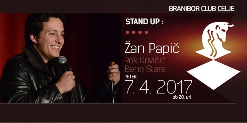 stand up - Žan Papič, Beno Stare in Rok Krivičič